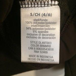 Fleece zip up size small
